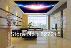 U-5019 explosion cosmique plafond tendu film semblables à carreaux de plafond pour le salon