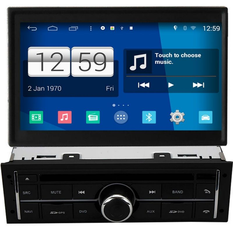 Winca S160 Android 4.4 Car DVD GPS Headunit Sat Nav for Mitsubishi L200 / Triton 2010 - 2015 with CANBUS Wifi / 3G Host Radio