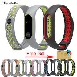 Xiao mi banda 2 Correa pulsera Correa colorida para mi banda 2 wristband reemplazo Smart Band Accesorios para mi banda 2 Silicona