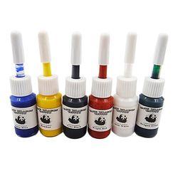 6 Pcs/set Profesional Multi Warna Tinta Tinta Pigment Set Perlengkapan 5 Ml Botol Tubuh Seni Aksesori Seksi Penjualan