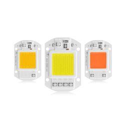 Full Spectrum LED Grow light LED COB lamp Bulb Chip 20W 30W 50W 220V DIY Indoor Plantand Spotlight Outdoor Garden Floodlight