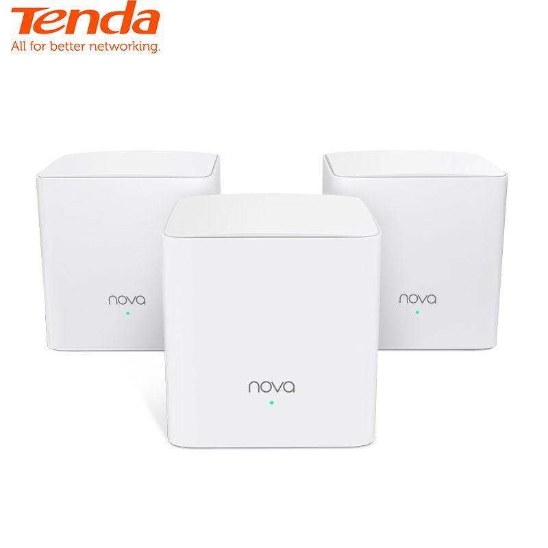 Tenda Nova MW5S Ganze Hause Mesh WiFi Gigabit System mit AC1200 2,4G/5,0 GHz WiFi Wireless Router und repeater, APP Remote Verwalten