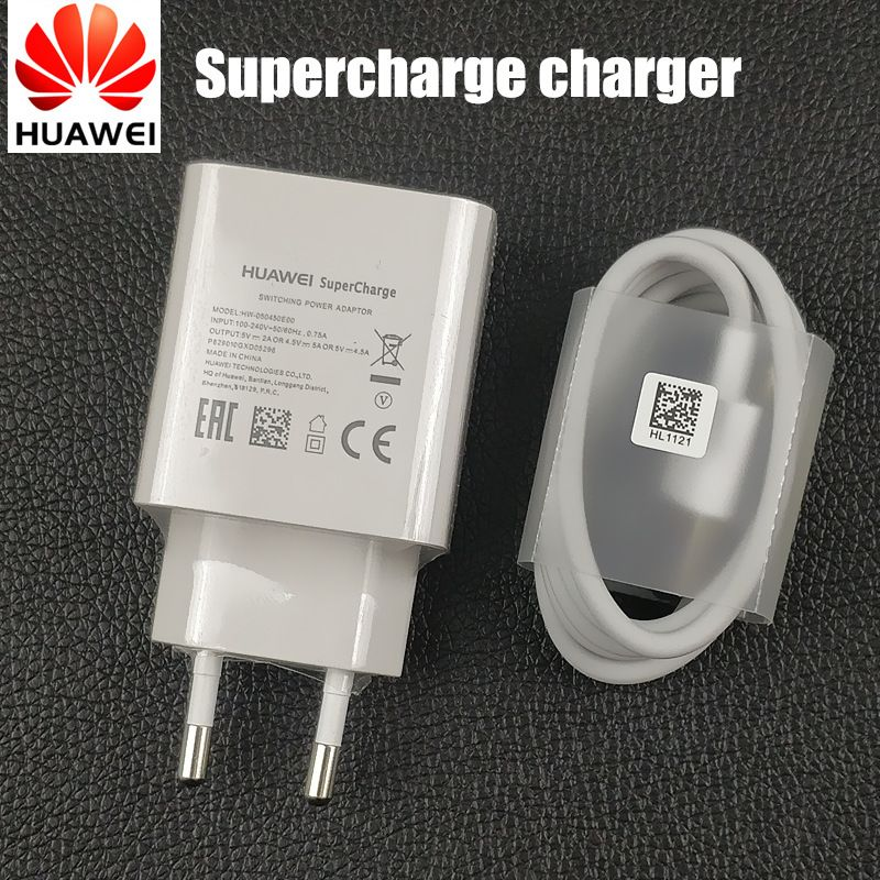 Original <font><b>Huawei</b></font> Mate 20 pro Charger EU supercharge adaptor fast charge usb type C cable for p10 P20 pro mate 10 9 honor 10 V10