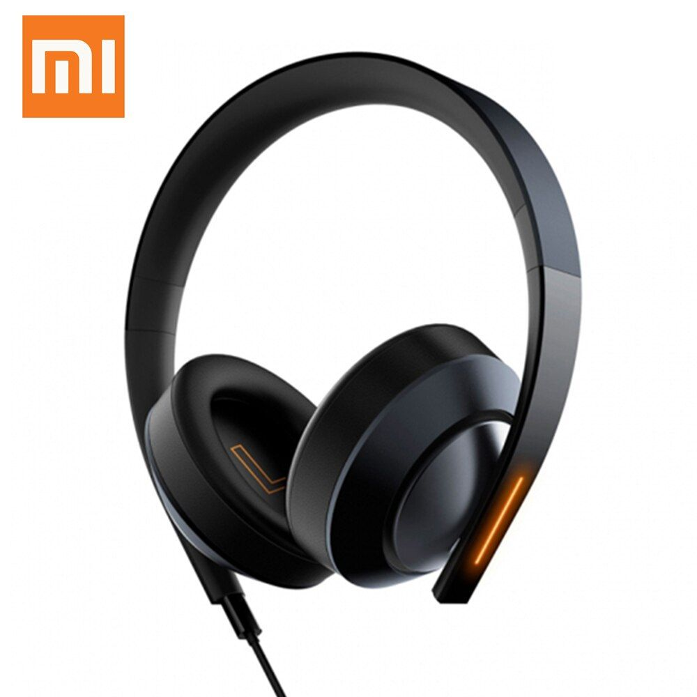 Xiaomi Gaming Headphone Mi Earphone 7.1 Virtual Surround Sound Game Headset With MIC LED Light Noise Cancelling Volume Control