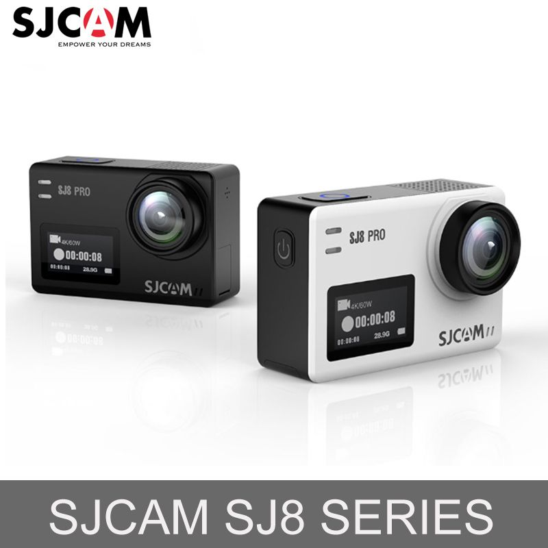 Original SJCAM SJ8 Pro/SJ8 Plus/SJ8 Action Camera WiFi 4K 1200mAh HD DVR Camcorder Remote Control 30m Waterproof Sports Camera