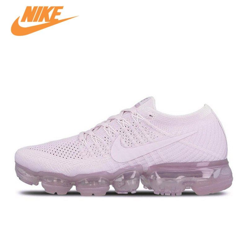 Original New Arrival Official Nike Air VaporMax Flyknit Women's Breathable Running Shoes Sports Sneakers Trainers