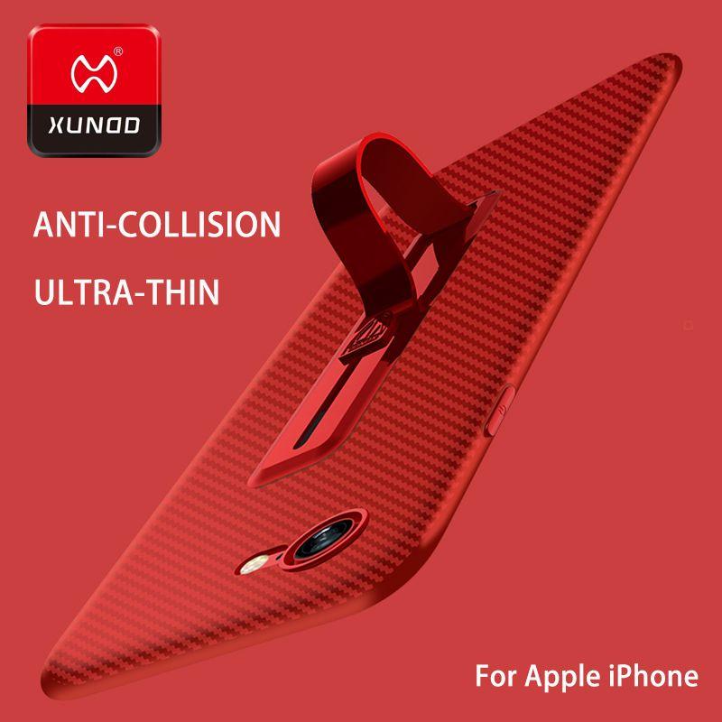 Ультра тонкий новый для iPhone 7 6 s 8 плюс кольцо Пряжка Телефон чехол для iPhone X 10 Роскошные кронштейн ТПУ силиконовый 360 защищены полную случае