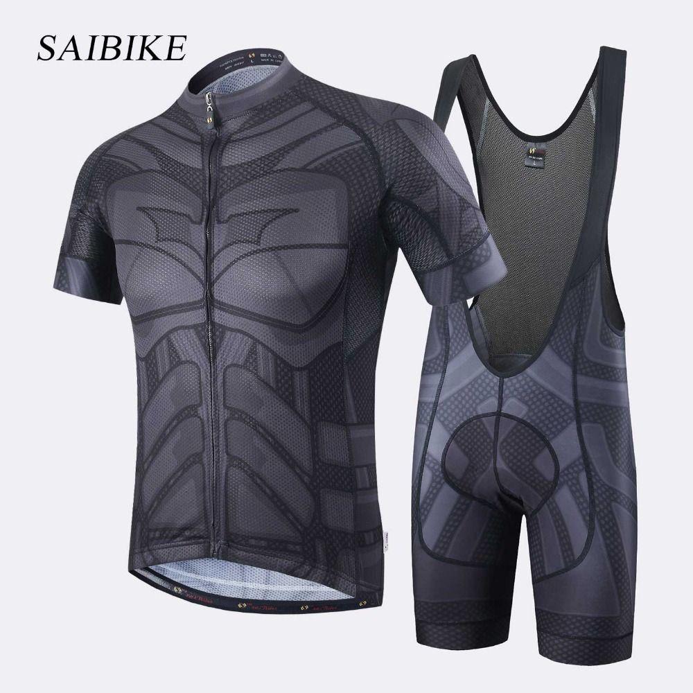 Super Hero Iron man Superman Spiderman Batman cycling jersey men short/long cycling clothing roupa ciclismo cycling clothing