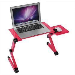 Escritorio del ordenador portátil Mesa portátil ajustable de pie escritorio de la computadora portátil en la cama Oficina Mesa portátil escritorios