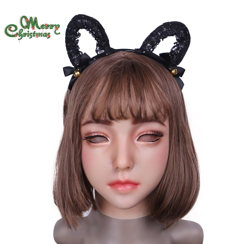 2018 new Emily Doll Suitable for crossdresser masquerade Pseudo street products for drag queens shemale cosplay mouth Openable