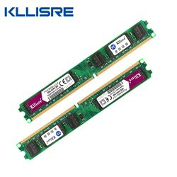 Kllisre ddr2 (2 шт. x2gb) ОЗУ 2 ГБ 800 мГц pc2-6400u 1.8 В CL6 240pin Non-ECC Desktop памяти DIMM новых