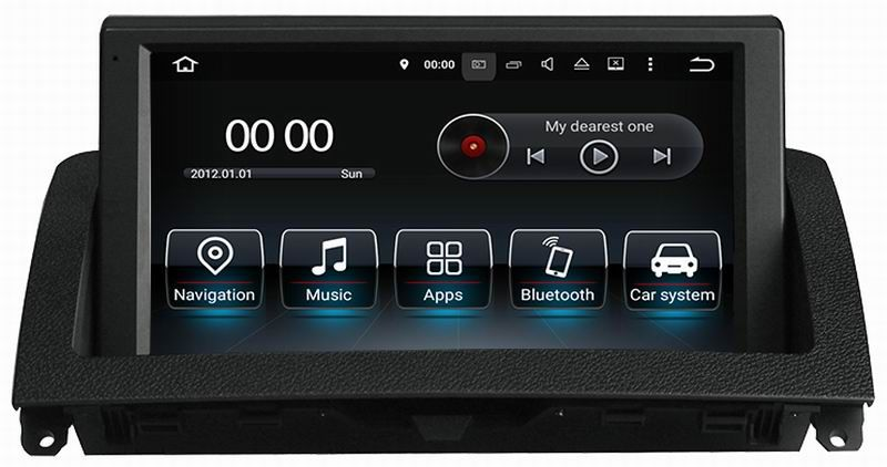 Ouchuangbo 8 inch android 8.0 car audio radio for Benz C W204 C200 C220 C300 2007-2011 with wifi gps navigation 8 core 4GB+32GB