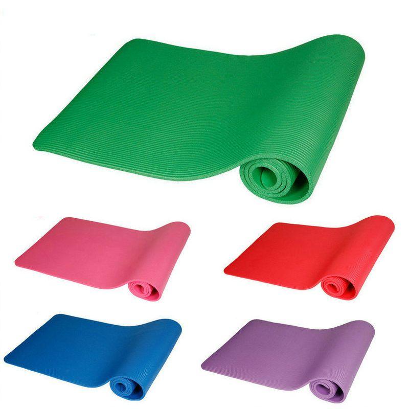 10mm tapis de Yoga Pad doux antidérapant tapis d'exercice à la maison Gym Fitness Pilates musculation tapis de sport matelas