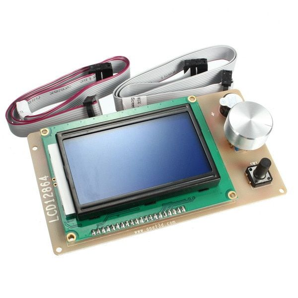 New Arrival 1PC 3D Printer LCD12864 LCD Module LCD 12864 Display Monitor Motherboard RAMPS1.4 Controller Panel