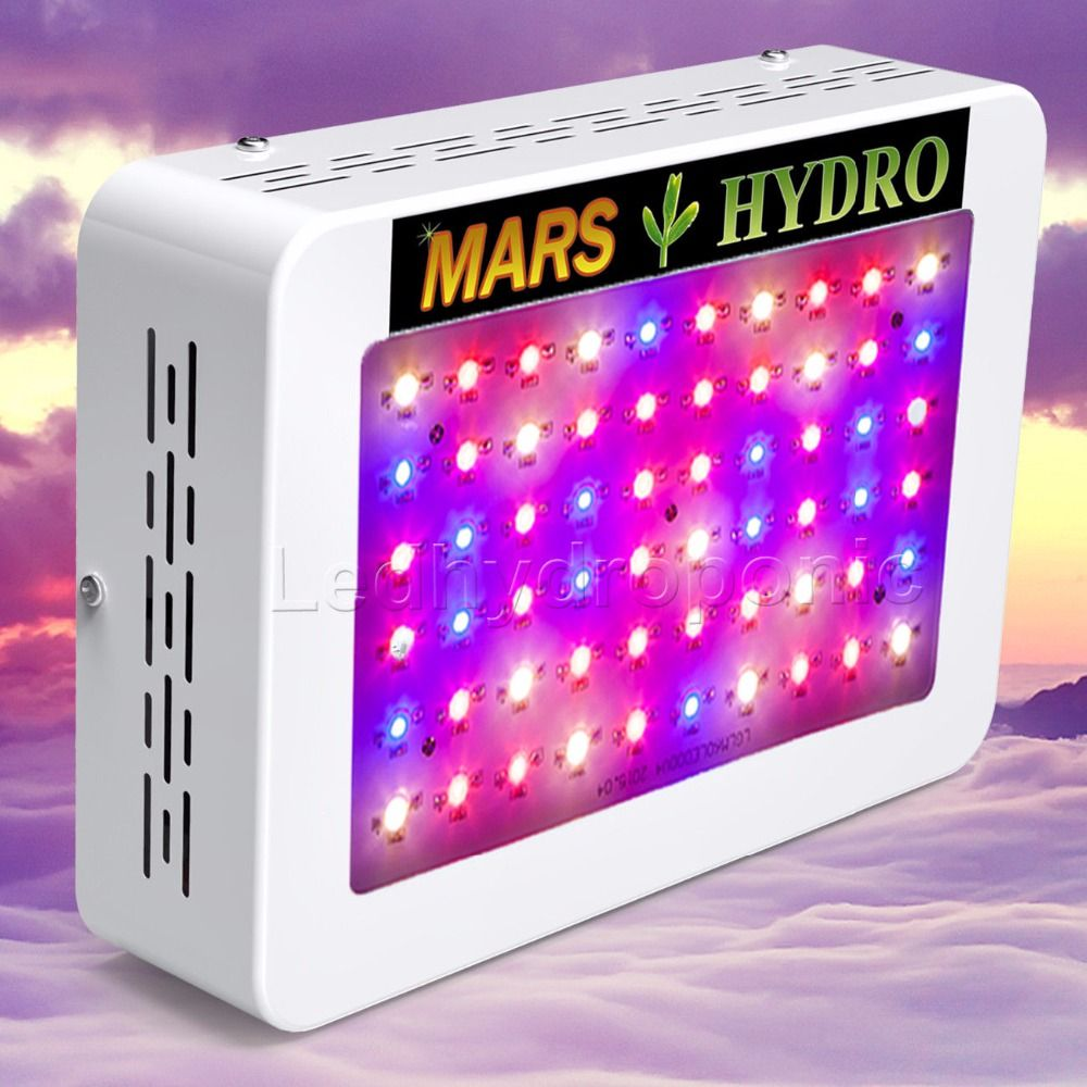 Mars Hydro LED Grow Light 300W Full Spectrum Lamp ,Indoor Medical Plant Veg/Flower Hydroponic Planting Indoor Garden