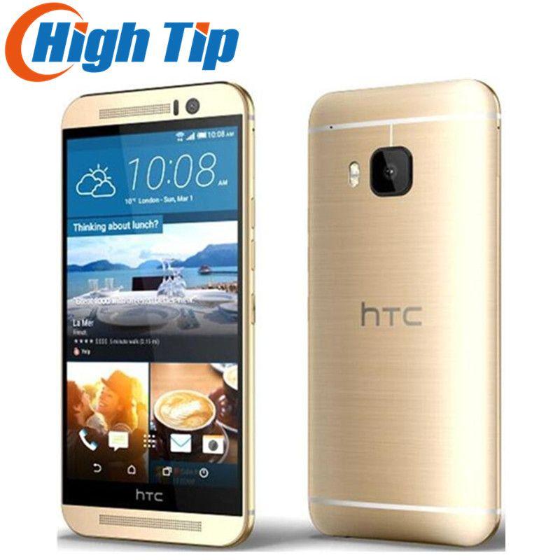 Débloqué Original HTC One M9 GSM 3G et 4G Android Quad-core RAM 3 GB ROM 32 GB Mobile Téléphone 5.0