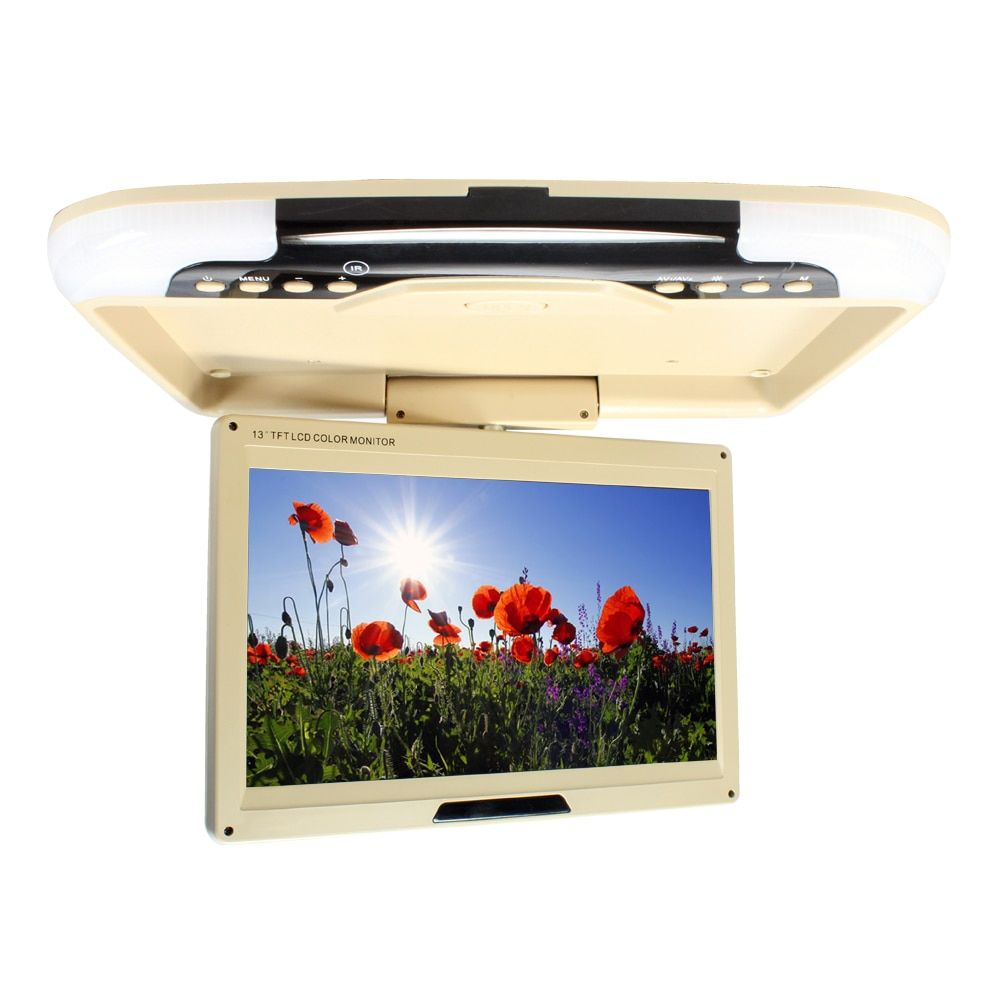 13 inches LED Digital Screen Car Roof Mounted Monitor Car Ceiling Monitor Flip Down Monitor Overhead Monitor for Car and Bus13-3