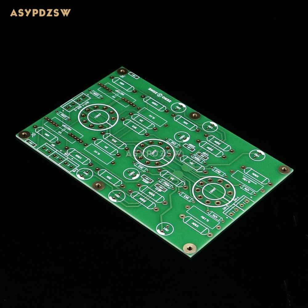 E834 HIFI RIAA MM Tube phono amplifier PCB Stereo turntable preamplifier PCB Base on EAR834 Circuit