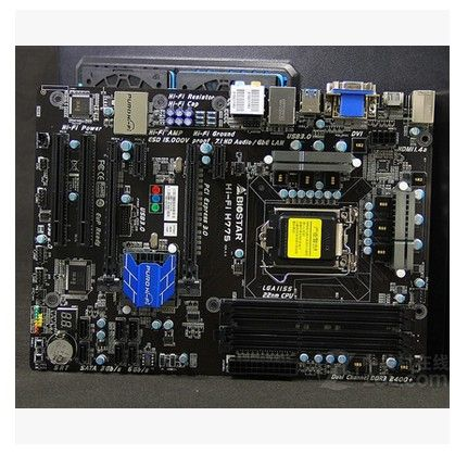 Biostar Hi-Fi H77S motherboard 1155 pin H77 motherboard board ,Clean up inventory, low price for sale,very new