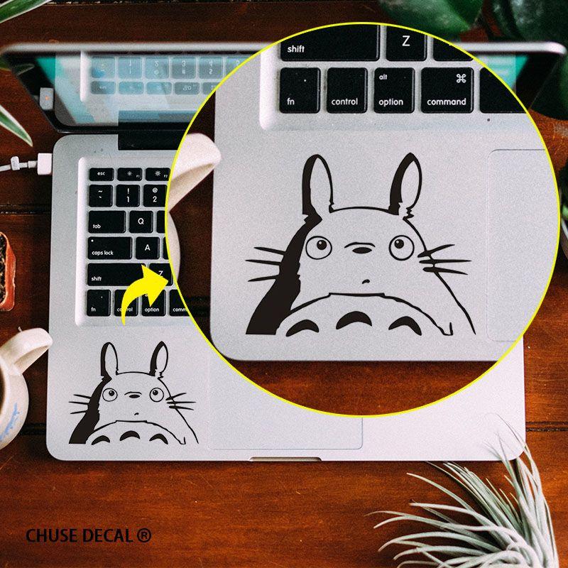 Totoro Anime Notebook Touchpad Aufkleber Laptop Trackpad Aufkleber für 11 12 13 15 Apple Macbook Air/Pro/Retina Cartoon Aufkleber