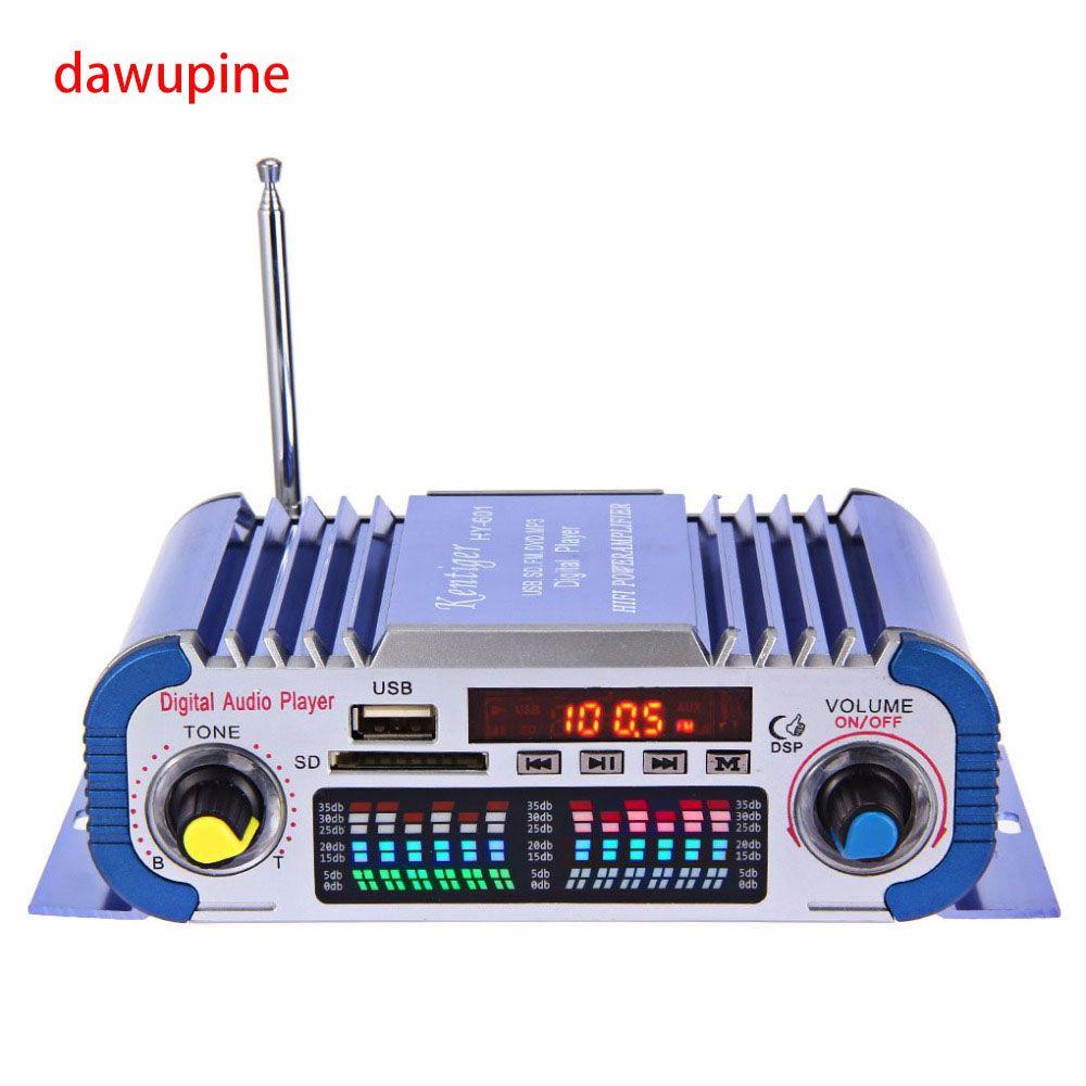 Lecteur Audio numérique 40 W HIFI amplificateur FM Radio MP3 jouer carte SD USB disque Slot adaptateur secteur pour DVD CD TV ordinateur voiture Audio