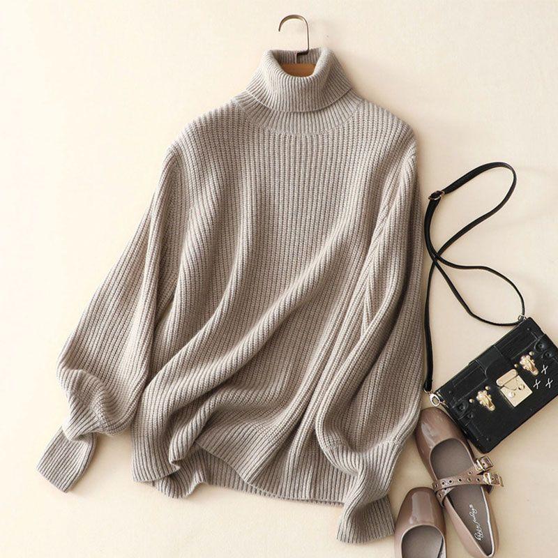 Kashana Для женщин толстый кашемировый свитер Цвет Свитер с воротником 100% кашемир зимний свитер Для женщин вязаный свитер 2017