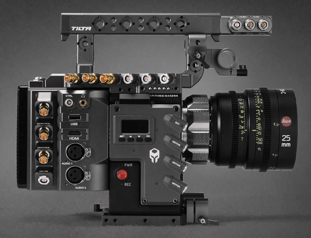 TILTA für ROT DSMC2 Kamera Rig A1 TILTA ESR-T01-A1 Käfig kamera Rig + ROT I/O modul Für ROT WAFFE RAVEN SCARLET-W