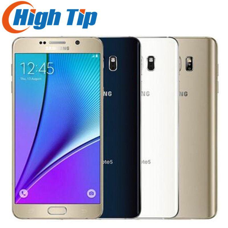 Unlocked Original Samsung galaxy Note 5 N920 N920P/V/A 4GB RAM 32GB ROM Android Smart Phone 5.7