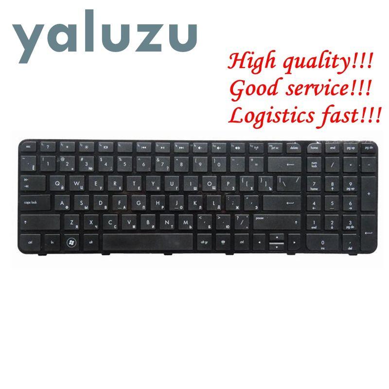 YALUZU russian Laptop Keyboard for HP FOR Pavilion G6 G6-2000 G6Z-2000 g6-2100 G6-2163sr AER36Q02310 R36 RU black with frame new