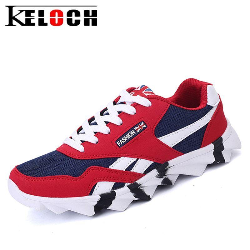 Keloch New Summer Hommes Chaussures de Course de Jogging En Plein Air Chaussures de Formation De Sport Sneakers Hommes Garder Au Chaud Hiver Neige Chaussures Pour la Course