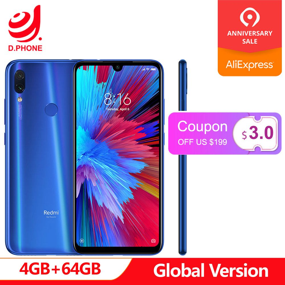 In Stock Global Version Xiaomi Redmi Note 7 6.3