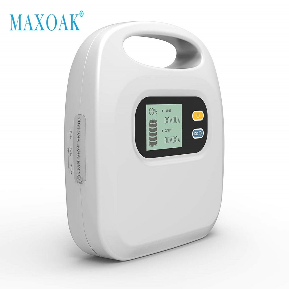 MAXOAK Highest Capacity 297Wh CPAP Power Bank for Airsense 10 Resmed S9 Philip REMstar System one Travel Camping Emergency Power