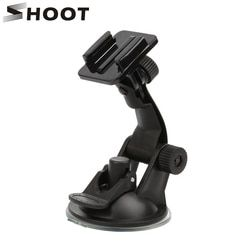 SHOOT 7CM Car Windshield Suction Cup For Gopro Hero 5 4 3 Session SJCAM SJ4000 SJ5000 h9 Xiaomi Yi 4K 2 Camera With Base Mount