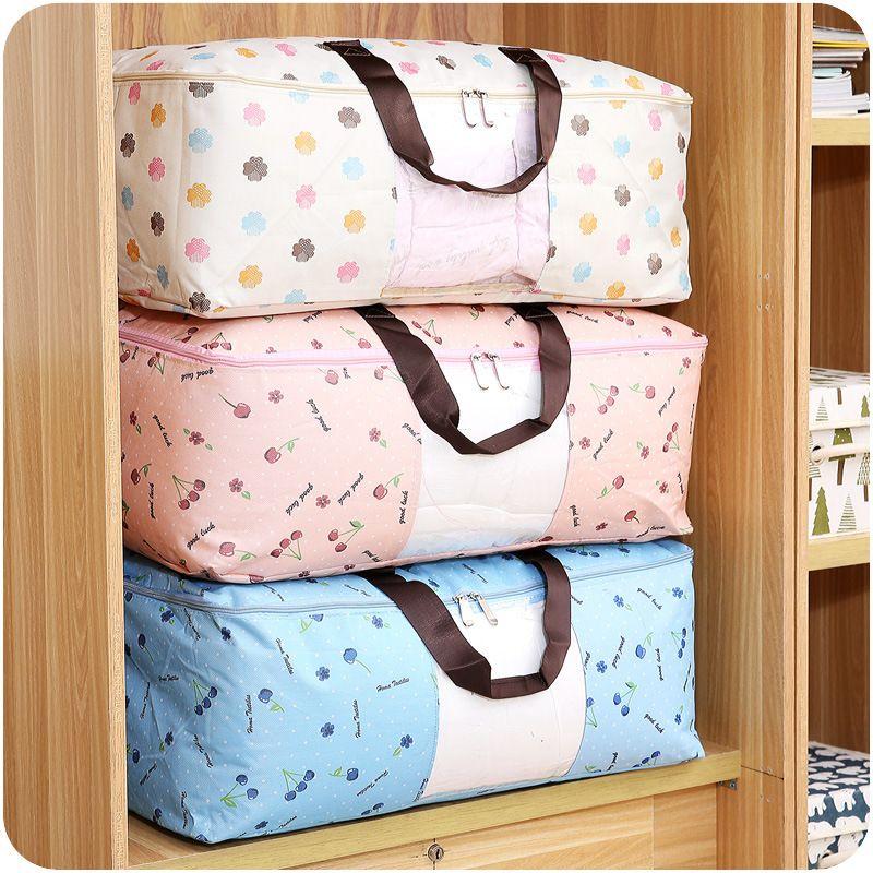 Portable Vêtements Organisateur Oxford Boîte De Rangement Des Vêtements Couette Couette Bac De Rangement Sous-Vêtements Boîtes De Rangement Organisateur