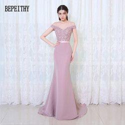 Vestido De Festa Longo Mermaid Bridesmaid Dresses Floor Length Custom Made Long Party Dress Cheap Bridesmaid Gowns 2019