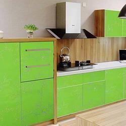 Multicolor 60 cm * 1 M papel pintado autoadhesivo impermeable del PVC para la cocina armario Mesa encimera película pegatinas decoración del hogar