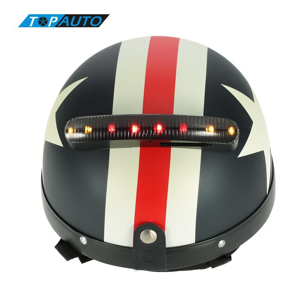 LED Motorcycle Light 12V Helmet Turn Signal Light Stop Brake Lamp Universal Intermitentes LED Moto Motorcycle Accessories