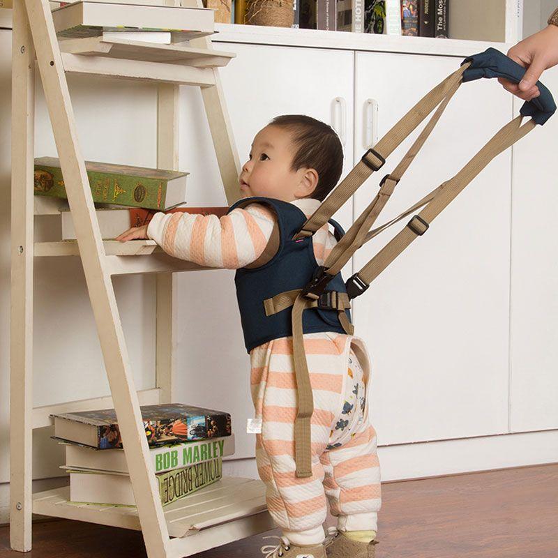 Calidad shippinghigh libre bebé seguro paseo aprendizaje ayudante cinturón niños Toddler ajustable Seguridad Correa bebé arnés