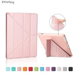 Ultra Thin Stand Design PU Leather case for ipad 3 4 2 Cover Colorful Flip Smart Cover Smart cover for iPad4 Table Case