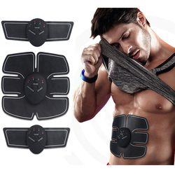 EMS estimulador muscular Wireless Smart fitness abdominal dispositivo de entrenamiento pérdida de peso eléctrica Adhesivos Cuerpo adelgazamiento cinturón unisex