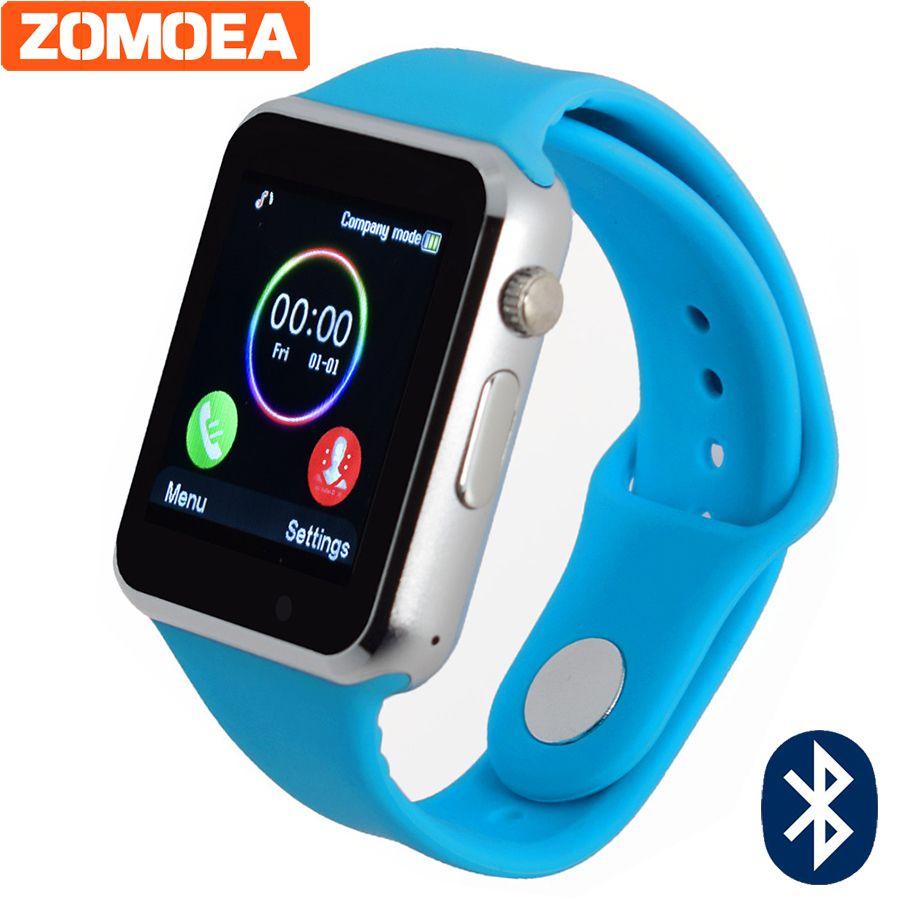 Bluetooth Smart Watch для телефона Android Поддержка SIM/TF Reloj inteligente наручные Спорт Поддержка камеры, sim-карты PK dz09 gt08