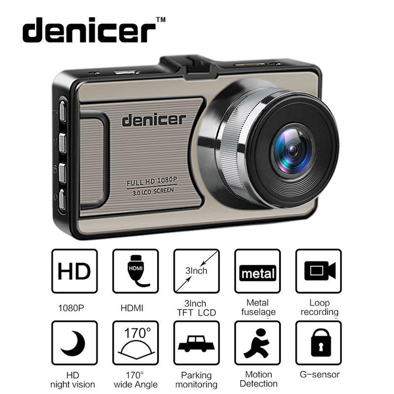 Car DVR Camera Novatek 96655 Full HD 1080P Dash Camera 30Fps Video Registrator Car 170 Degree Dash Cam Night Vision Recorder Car