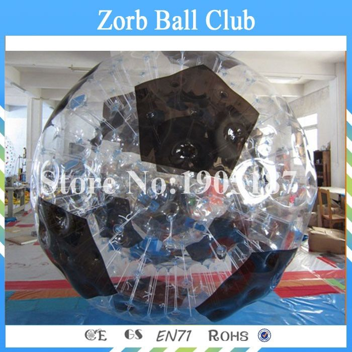 Freies Verschiffen 1,0mm TPU Aufblasbare Körper Zorb Kugel, 3 mt Durchmesser Guten Preis Aufblasbare Menschlichen Bowling Für Mietgeschäft