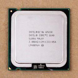 100% de trabajo para Intel Core 2 Quad Q9650 SLB8W 3.0 Ghz 12 MB 1333 MHz socket 775 CPU procesador