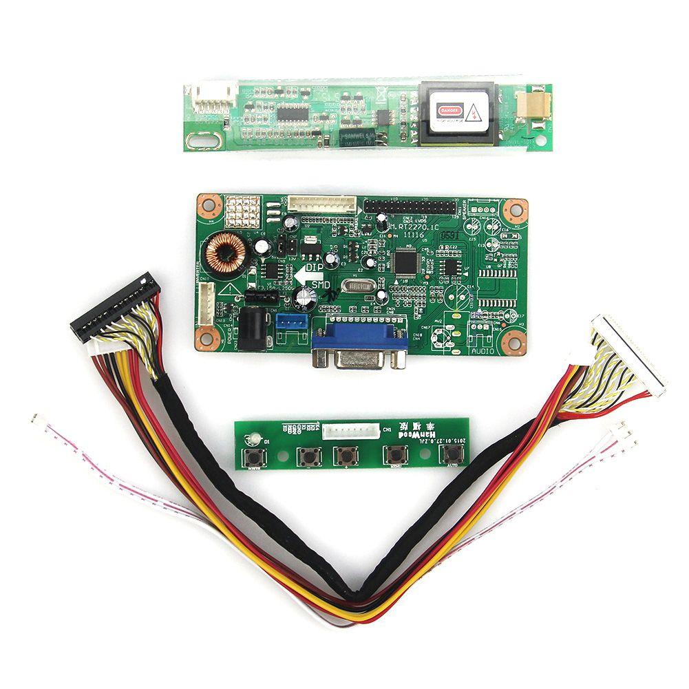 LCD/LED Control Treiberplatine (VGA) Für LP154W01-A3 LTN154X3-L01 1280x800 LVDS Monitor Wiederverwendung Laptop