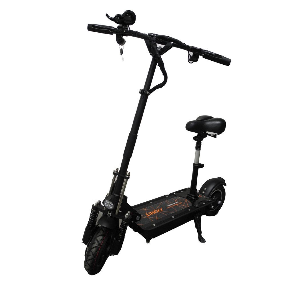 UBGO 52V26A LG Battery Double Drive 2000W Motor Powerful Electric Scooter 10 Inch E-Scooter