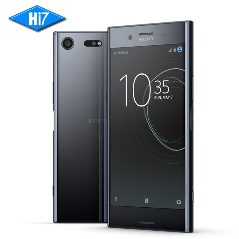 New Sony Xperia XZ Premium 64G ROM 4G RAM 19MP Octa Core NFC 3230mAh Dual Sim Android 7.1 Quick Charge 3.0 Mobile Phone