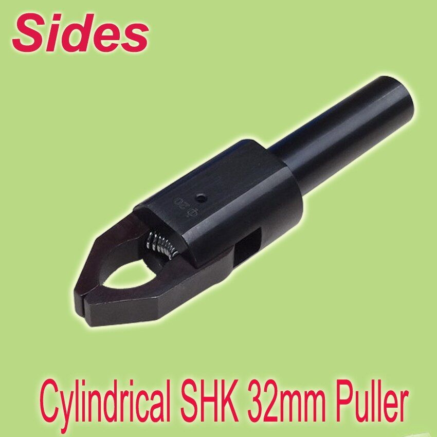 Free Shiping 32mm Cylindrical Shank Range 3~45mm CNC Material Bar Pullers Out Production Auto Link Easiest Setting Up for Lathe