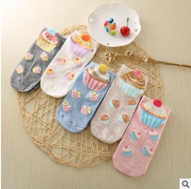 6Pairs 2018 Women glbkXEXs Cool Socks Female Girls Fashion Sock Casual Breathable Lady Cotton Spring Socks