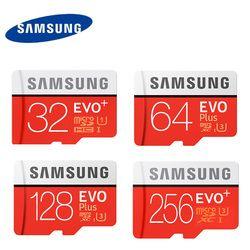 Samsung Evo + Plus 16/32 GB SDHC Carte Carte Mémoire C10 64 GB SDXC U3 Cartao SD Mémoire Flash Carte de Soutien Officiel vérification